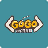 GOGO奶茶店LOGO设计